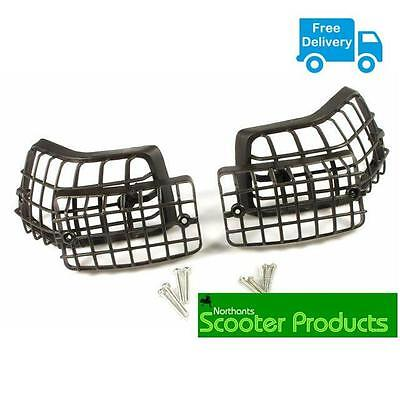BLACK INDICATOR GRILLS PX PE PLASTIC TYPE FITS PX 125 200 (ect)