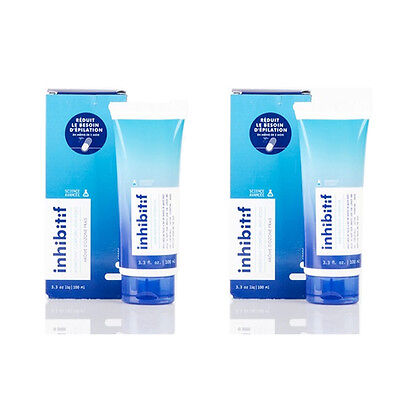 2 x Inhibitif Hair Free Body Hydrator Suitable All Skin Types 100ml