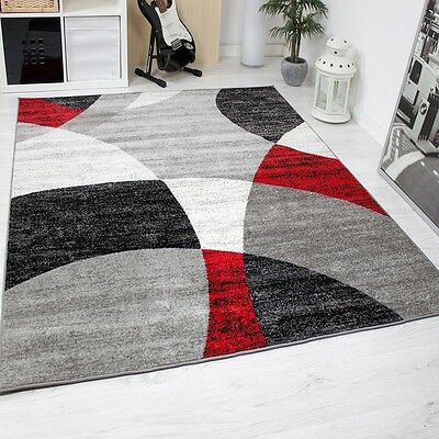 Salon tapis moderne g om trique motif cercles mouchet for Tapis ikea usa