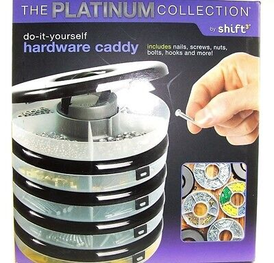 Do-It-Yourself Hardware Caddy by Shift - The Platinum Collection