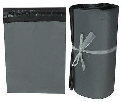 Strong Grey Plastic Mailing Post Poly Postage Bags with Self Seal LOW PRICE