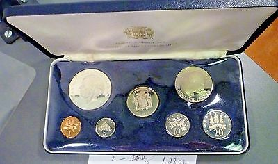 Jamaica 1973 7 Coin Silver Proof Set