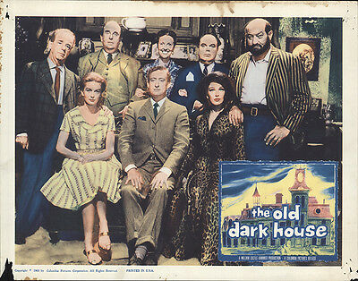 The Old Dark House 1963 Original Movie Poster Comedy Horror Mystery