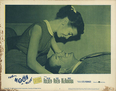 The Moon Is Blue 1960 Original Movie Poster Comedy Romance