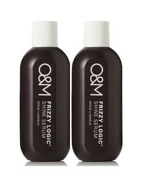 O&M Original Mineral Frizzy Logic Shine Serum 50ml duo pack