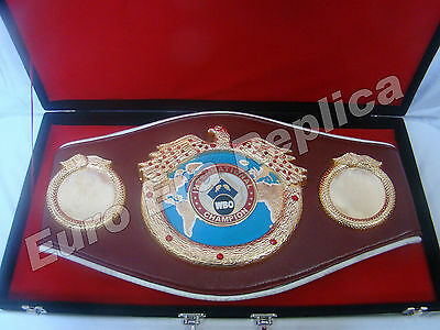 Replica WBO (World Boxing Championship) Belt ,Handmade WBO Boxing Belt & Box