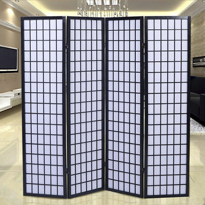 Room Divider Screen Privacy Tokyo SHOJI Movable 3 / 4 Panel Partition Separator