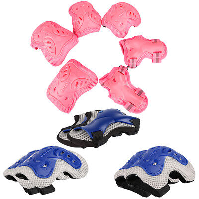 Kids Skate Protection Guards Bike Skateboard Skiing Wrist Knee Elbow Pads Roller