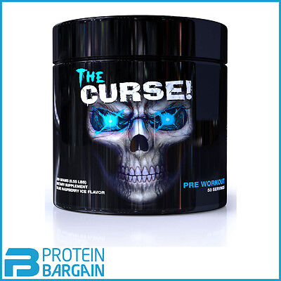 Cobra Labs The Curse - 250g / 50 Servings ALL FLAVOURS! Strong Pre-Workout