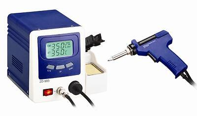 Uk-Lead Free Desoldering Station With Lcd Panel Zd-985 New 220V Euro