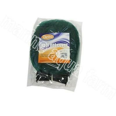 GREEN POND NET COVER WITH PEGS, 3 SIZES 3 x 2, 3 x 4, 6 x 4 METERS, KOI GOLDFISH