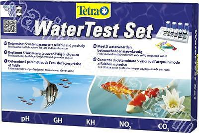 Tetra Water Test Set, Ph Gh Kh No2 Co2, Aquarium Kit, Tropical Cold Pond Fish