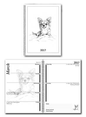 Chihuahua Long Haired Small 2017 Dog Show Diary with Championship Show Dates