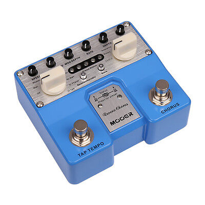 Mooer Audio Twin Series Reverie Chorus Guitar or Bass Effect Pedal - Brand New!