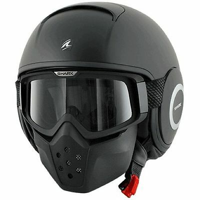 Casco Shark Raw Negro Mate   +++Talla M+++