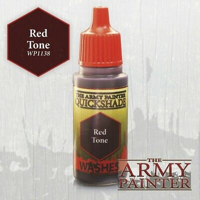The Army Painter Warpaints Red Tone Ink AP-WP1138 Painting Hobby