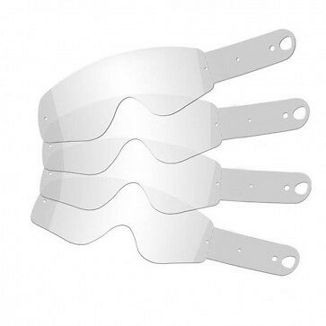Tearoffs for RNR Fox Youth Goggles - Motocross - Tear Off - Quantity 10pk