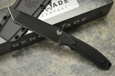 Benchmade 167BK Protagonist Tactical Fixed Blade Knife w/ Sheath - Tanto Point