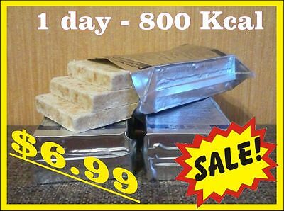 1 DAY 24H 800Kcal EMERCOM Russia emergency food ration for emergency situation