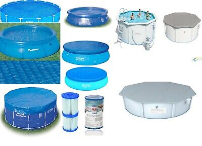 Bestway Swimming Pool Covers - All Sizes - Fast Sets - Steel Frame - Solar Power