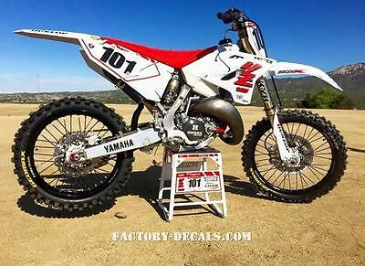 Yamaha Retro YZF YZ WR125 250 450 Graphics Decals any year 1990-present