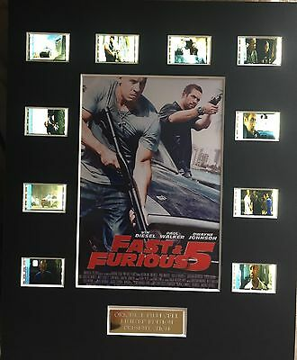 Fast and Furious 5 35mm Film Cell Display