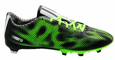 New Mens / Youths Adidas F10 Fg Firm Ground Football Boots Trainers - B35993
