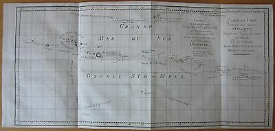 COOK'S MAP -1774-