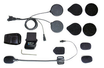 Sena Helmet Clamp Kit w/ Wired Boom Microphone SMH5-A0311 for SMH5/-FM/SPH10H-FM