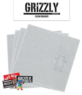 Grizzly Grip Squares Clear