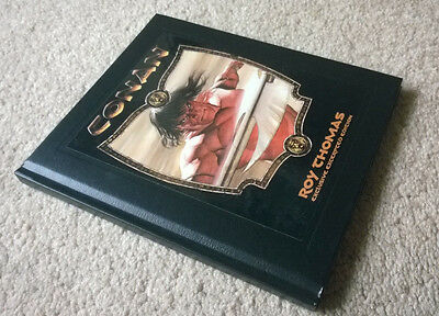 """""""Conan"""" Exclusive Excerpted Edition hardcover BOOK by Roy Thomas (DK, 2006) NEW"""