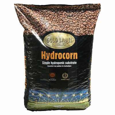 Gold Label HydroCorn, 36 Liters LECA - Lightweight Expanded Clay Pebbles Pellets
