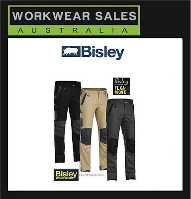 Bisley Flex & Move mens Work pants Workpants Workwear BPC6130