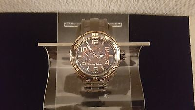 Mens Invicta Model 17782 Pro Diver Gunmetal Dial Stainless Steel Watch