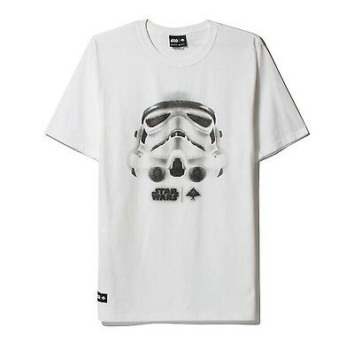 LRG - Lifted Research Group - Star Wars - Face of War - White T-Shirt - XL