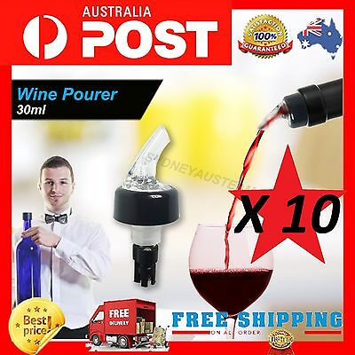 New Magic WINE AERATOR / DECANTER Essential Filter & Pourer! RED WINE! X 10