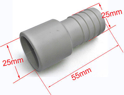 """spa pool and hot tub Part Street 1""""x 2(3/4"""") barb T-joint inside/outside connect"""