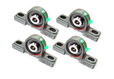 "High Quality 1/2"" UCP201-8 Pillow Block Bearing with Grease Fitting (Qty4)"
