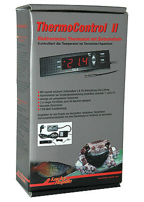Lucky Reptile Thermo Control II Thermocontrol 2 Digital Thermostat Reptile Stat