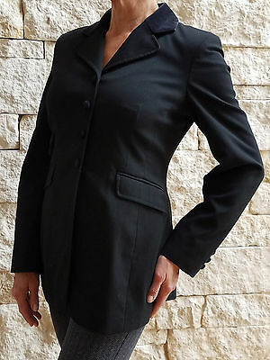 Isabell Werth Black Show Coat