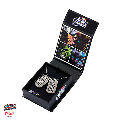 Captain America Replica 1/1 Steven Rogers Dog Tags Necklace EE Exclusive