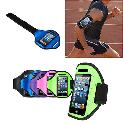 For iPhone 8 7 Plus 6 6S Armband Case Sport GYM Running Exercise Arm Band Holder