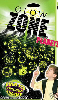 Glow Zone Planet Sticker Pack - Over 120 stickers FREE POST