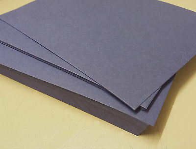 A5 BLUE LINEN TEXTURED CARD 220gsm Card Stock High Quality