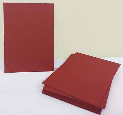 A6 1-500 Bright Red Card 300Gsm Thick Plain Sheets Coloured Craft Card Stock
