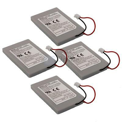 4X New 1800mAH Rechargeable Battery Wireless Controller for Playstation 3 PS3 UK