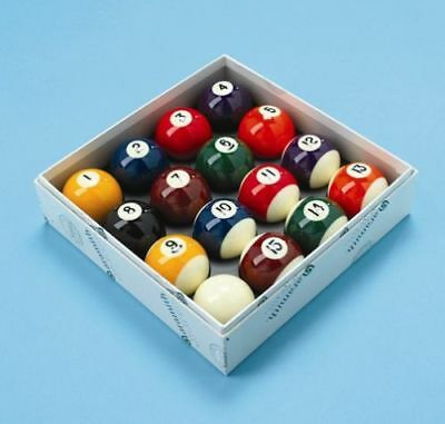Aramith Spots and Stripes American 2 1/4 inch Size - USA Size Balls with Free De