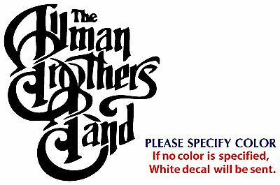 Allman Brothers Metal Music Rock Band JDM Vinyl Sticker Decal Car Window Wall 6""