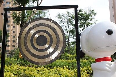 """High quality China percussion instruments 22"""" Sun wind gong & mallet"""