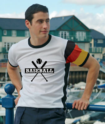 Baseball Deutschland T-Shirt Trikot im DE-Design / No.5